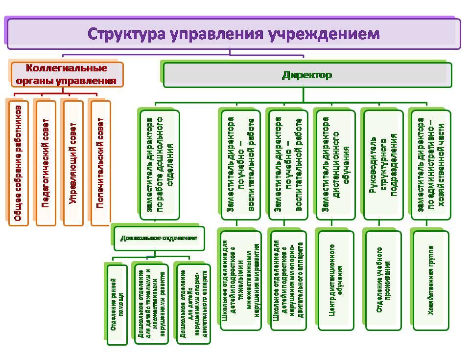структура управления цлп