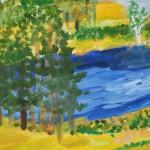 Вода и дерево. Захарченко Михаил