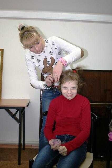 26.01.2014 к нам приехали парикмахеры
