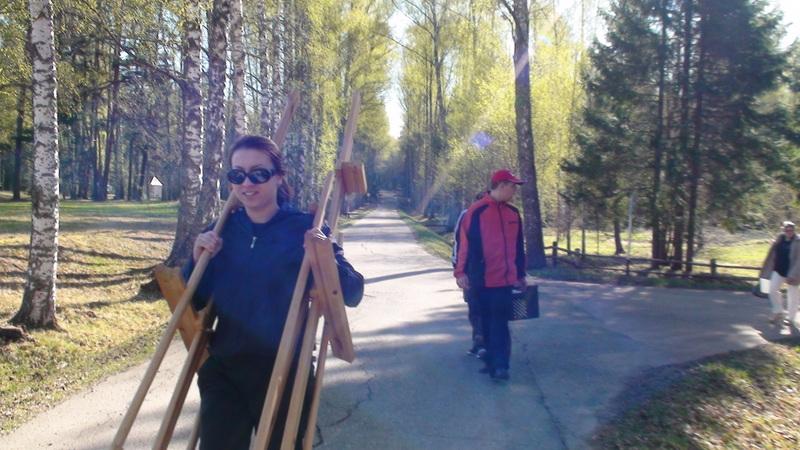 22.04.14 Творческий лагерь в Пушкинских горах